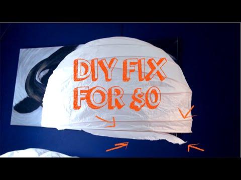 DIY Paper Lantern (Chinese Lantern Ball) Fix For $0!!