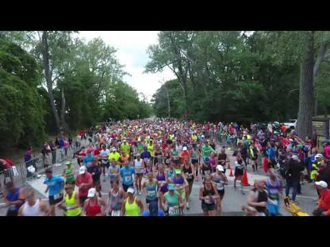 Erie Marathon Start -  2016