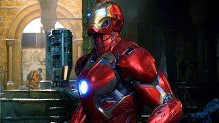 Avengers vs Ultron - Mark 45 - Battle of Sokovia -...