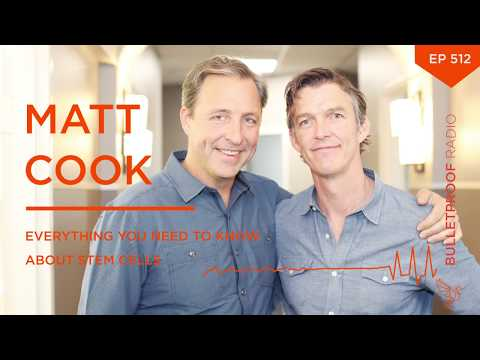 Matt Cook: Everything You Need To Know About Stem Cells #512 - full episode, audio only