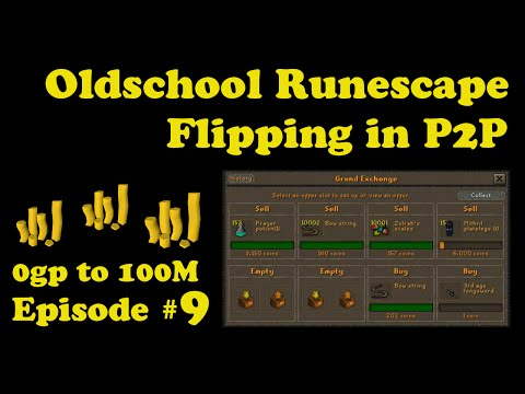 [OSRS] Oldschool Runescape Flipping in P2P [0 - 100M] - Episode #9 - CABBAGES OH NO!!