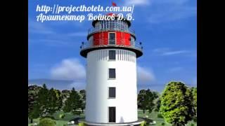 видео Проект гостиницы на 14 номеров  332 м2 из СИП панелей с ЦСП от компании Вирмак