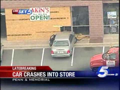 Driver Crashes Into Metro Health Store