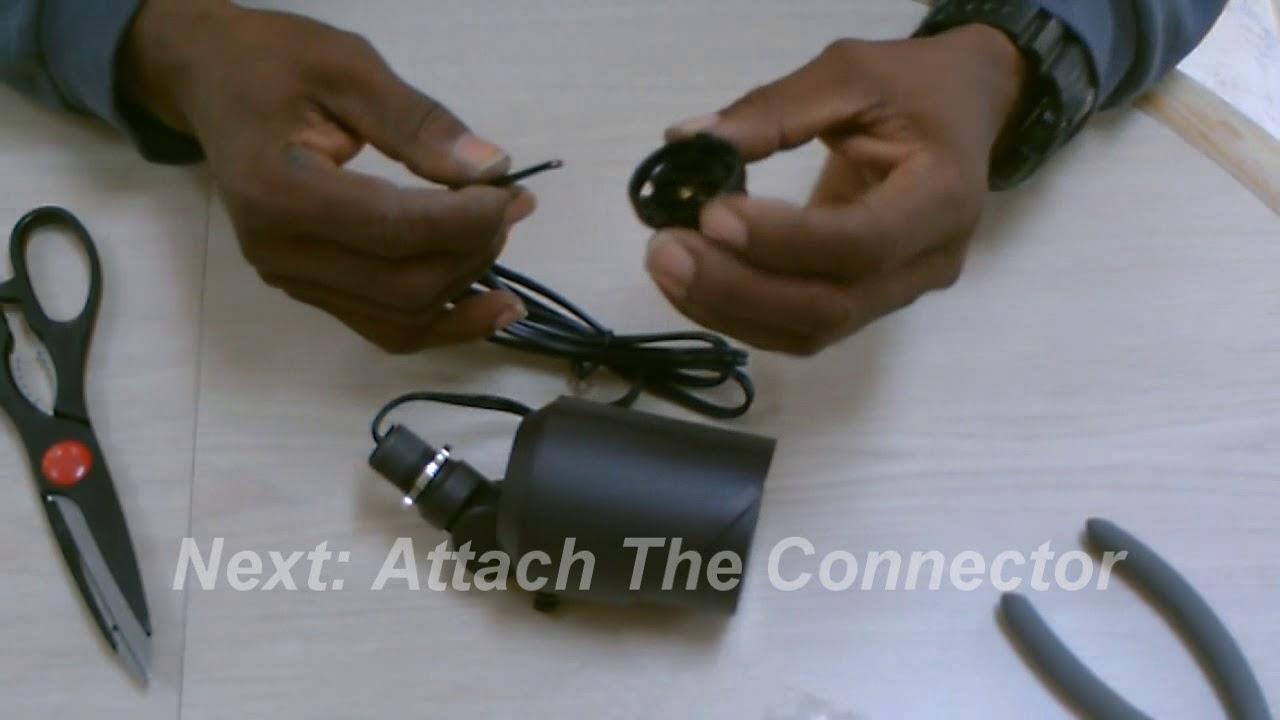 Landscape Light Fixture Connector Youtube Wiring Portfolio Lighting