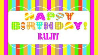 Baljit   Wishes & Mensajes - Happy Birthday