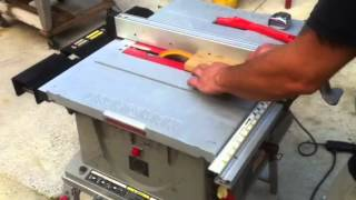 Craftsman Pro Table Saw