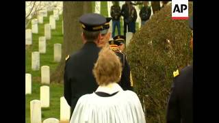 The last surviving US veteran of World War I was buried with full military honors Tuesday at Arlingt