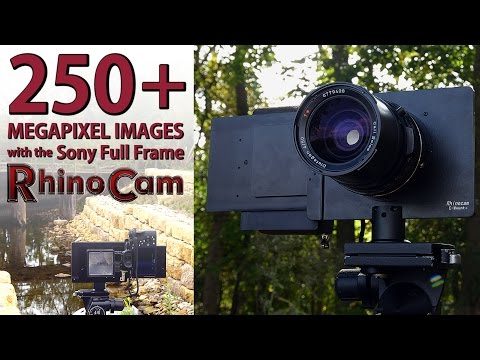 Shoot 250+ Megapixel Images With Your Sony Full Frame A7 And The RhinoCam