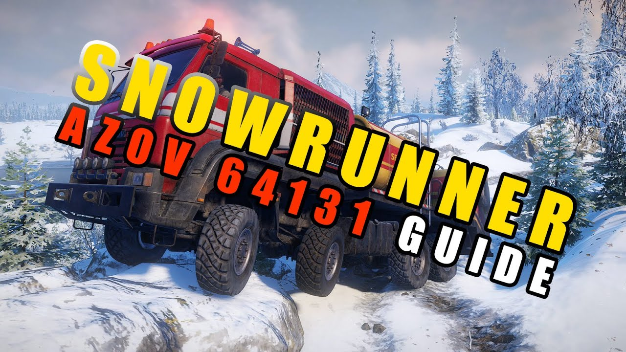 AZOV 64131: Actually the BEST truck in SnowRunner?