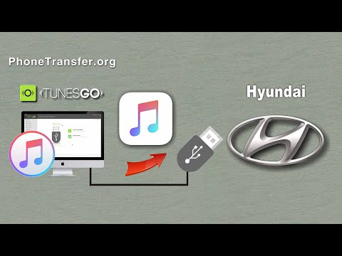 How to Put iTunes Music on Hyundai Car, Sync Songs from iTunes to Hyundai Car
