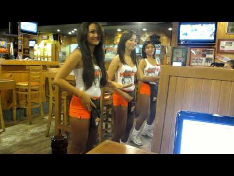 Hooters Manila mix 2013