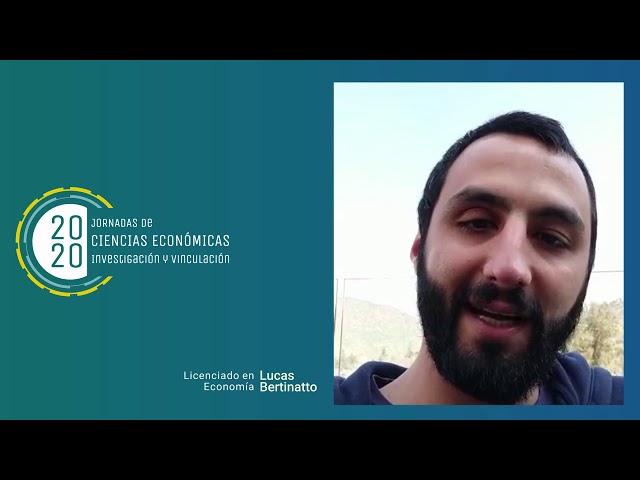 Egresados FCE - Lucas Bertinatto