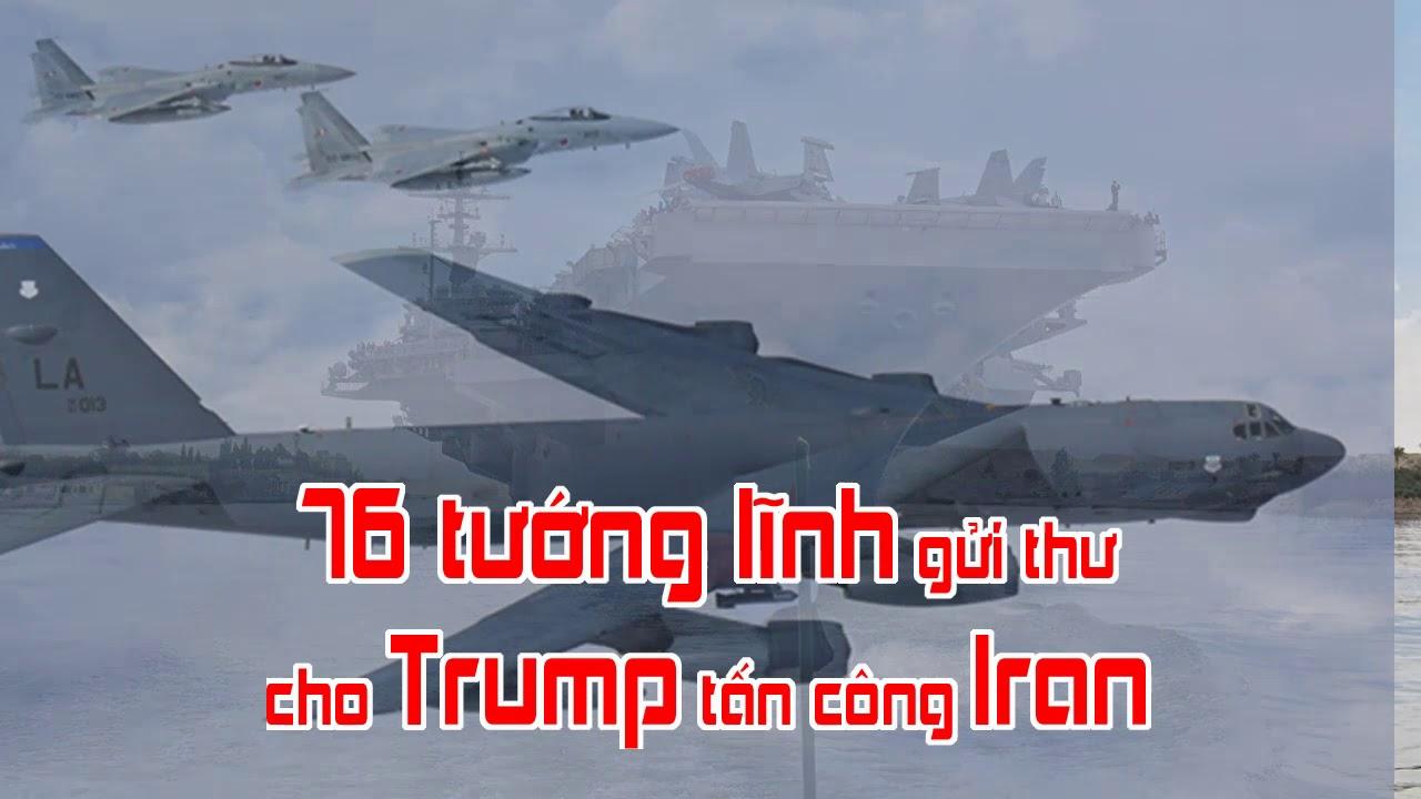 76 tướng lĩnh gửi thư cho Trump tấn công Iran