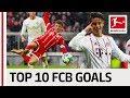 FC Bayern München Best Goals Season 2017/18 - James, Lewandowski & More
