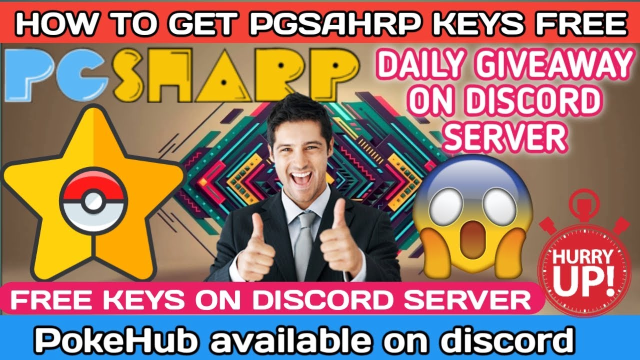 HOW TO GET PGSHARP FREE KEYS || SUPPORT ON OUR DISCORD SERVER || DAILY GIVEAWAYS IN OUR DISCORD ||