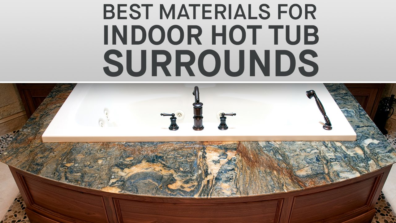 The Best Materials for Indoor Tub Surrounds | Marble.com - YouTube
