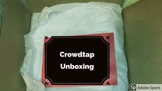 CROWDTAP UNBOXING|WHAT