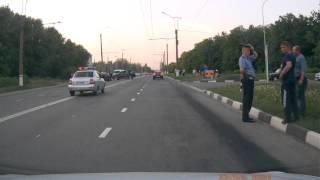 Авария в г. Саранске 26 мая 2014г.