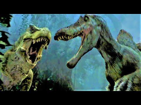 Jurassic Park 3 - Lotta T-Rex contro Spinosauro