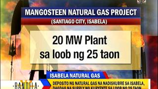 Natural gas deposit found in Isabela