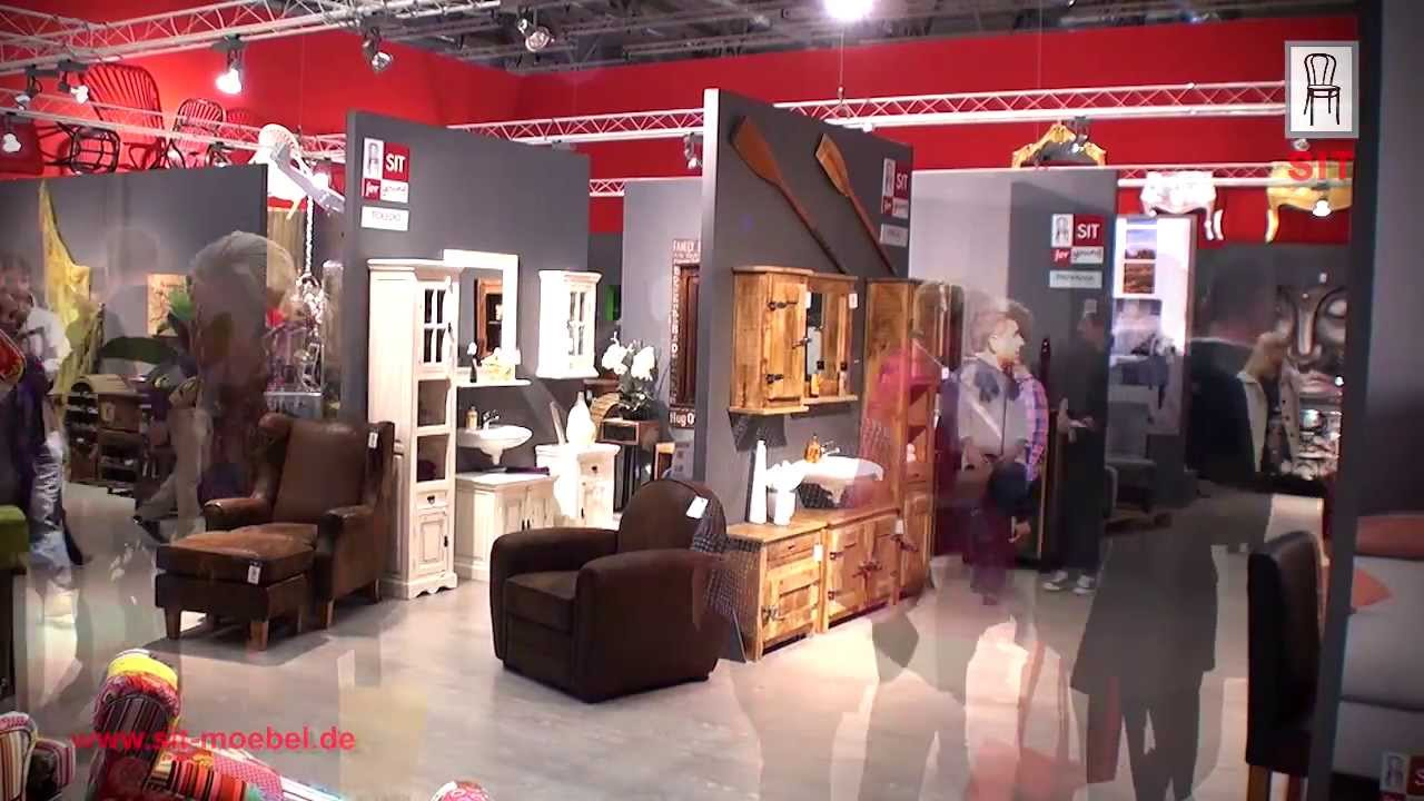 sit m bel im u export vertriebs gmbh zur messe imm 2014 in k ln youtube. Black Bedroom Furniture Sets. Home Design Ideas