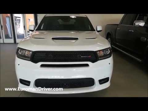 King Of Suvs New Dodge Durango Rt 2019 Review With Euromandriver