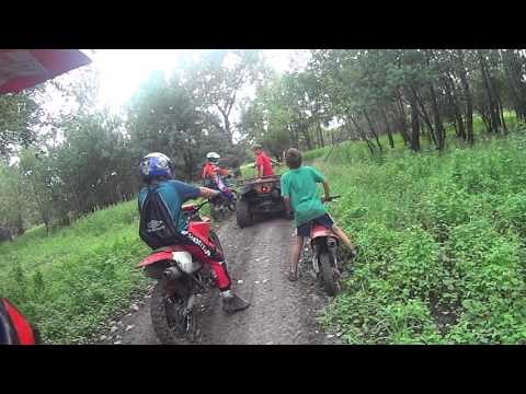 Dirt Biking Otter Creek ATV Park, Burlington KS luke video 2