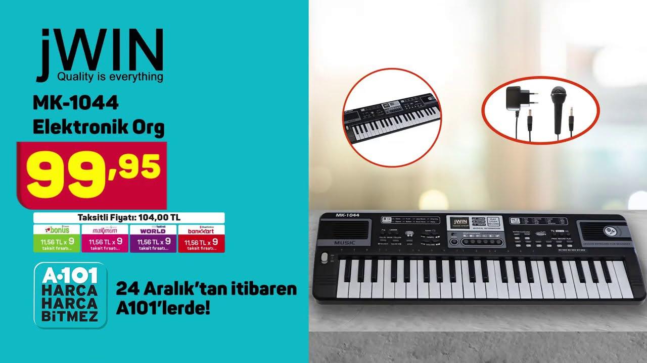 Aldın Aldın! - 24 Aralık   JWIN MK-1044 Elektronik Org