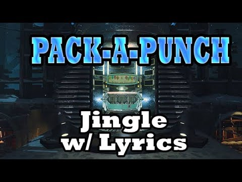 """*NEW* FULL """"Pack-a-Punch"""" JINGLE WITH LYRICS!!"""
