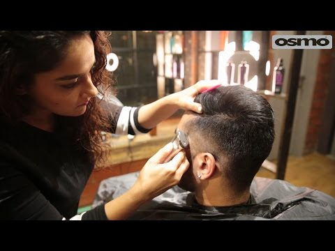 The Side Part haircut for Indian Men | dapper hairstyle | Barbering by Rashi Herani