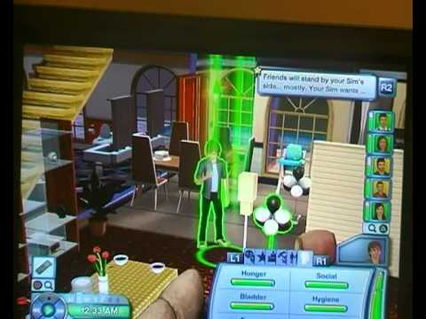 how to add another sim in sims 3 ps3