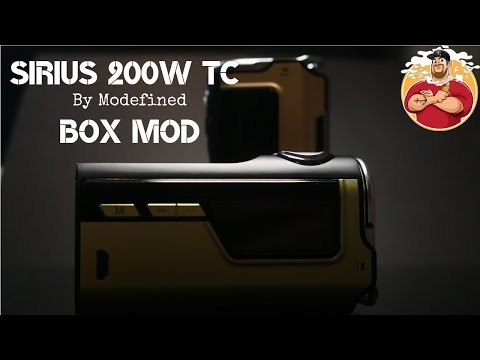 Sirius 200w TC Box Mod by Modefined/Lost Vape Review & Look