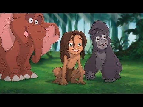 Tarzan E Jane Dublado Desenhos Animados Em Portugues Youtube