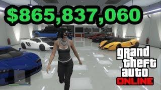 I'm Rich! GTA Online $865 MILLION
