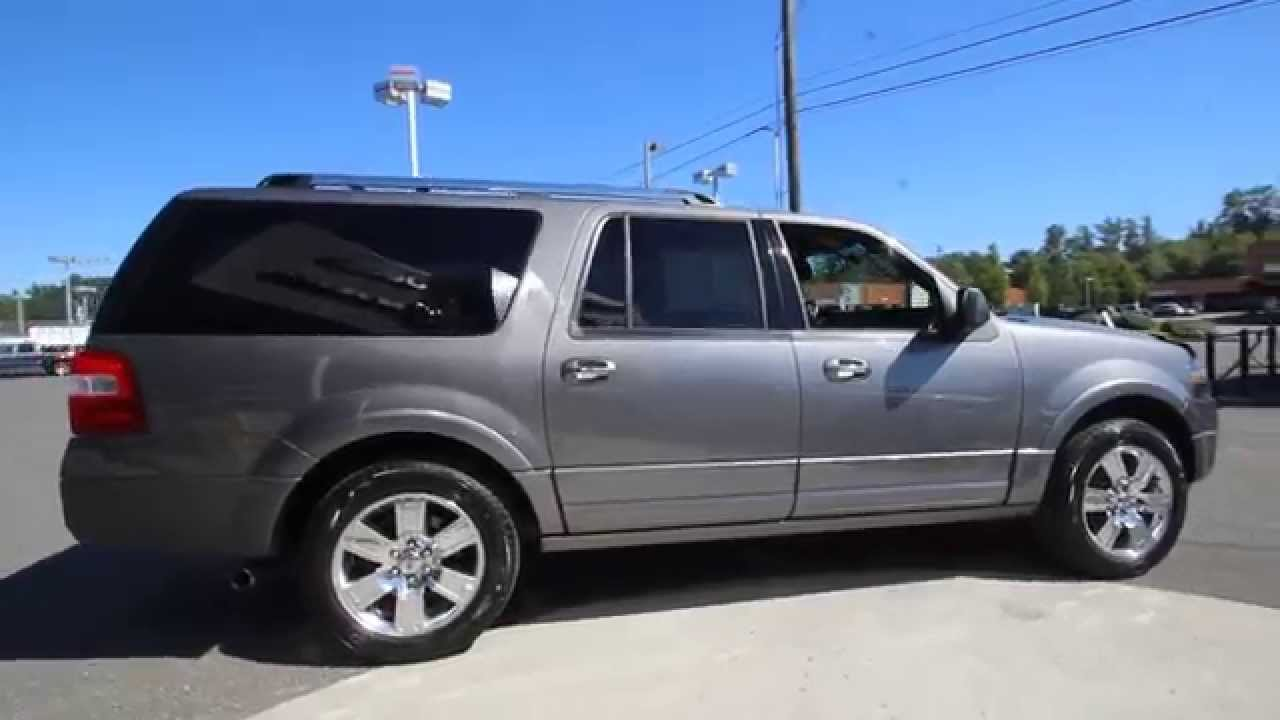 2010 Ford Expedition El Limited Gray Aeb50474 Mt