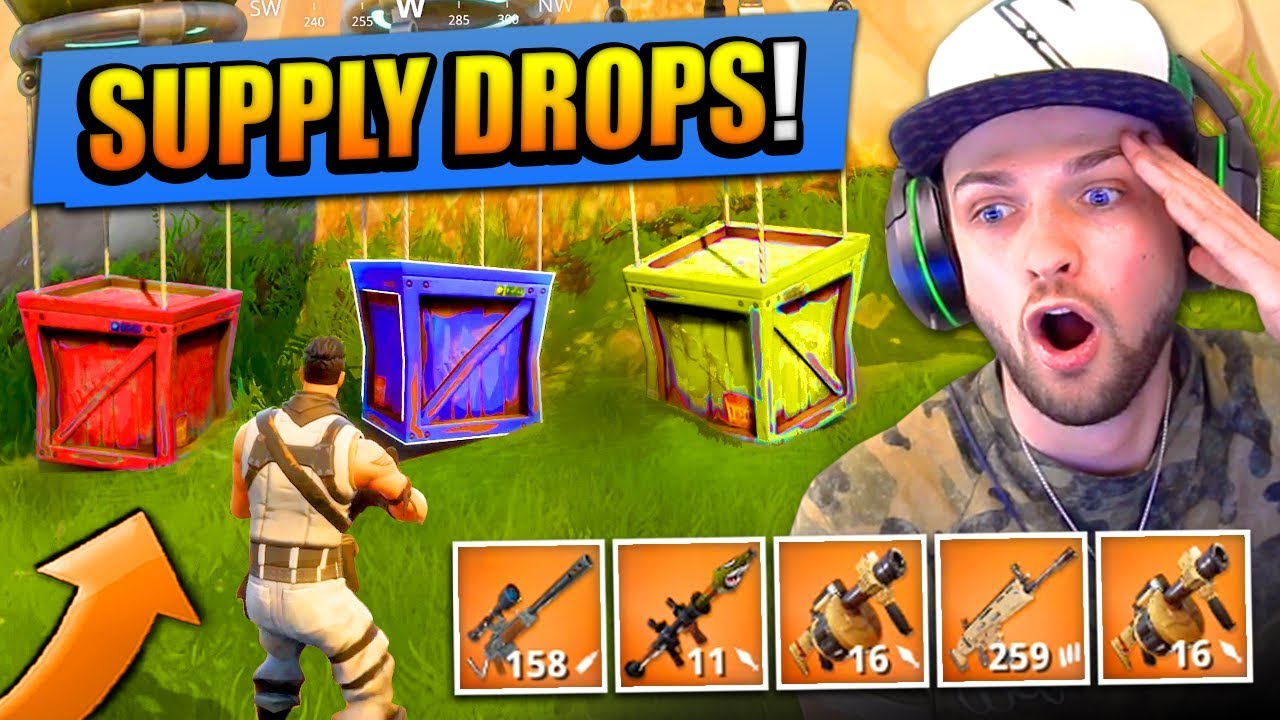 legendary supply drops in fortnite - fortnite supply drop challenge