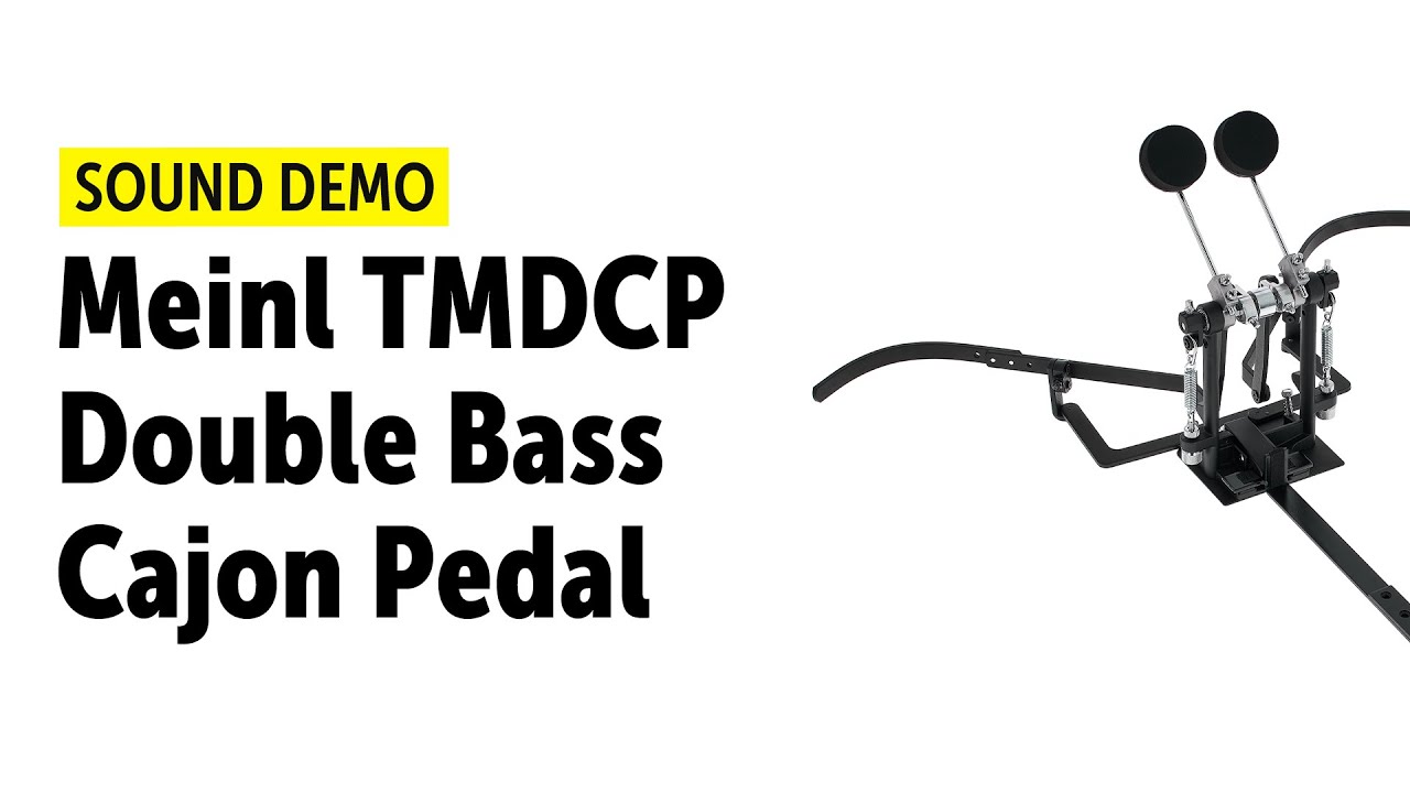 meinl tmdcp double bass cajon pedal sound demo youtube. Black Bedroom Furniture Sets. Home Design Ideas