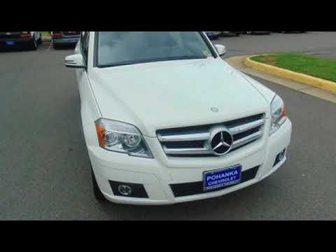 Used 2011 Mercedes Benz GLK Manassas VA Chantilly, MD #CP18068B