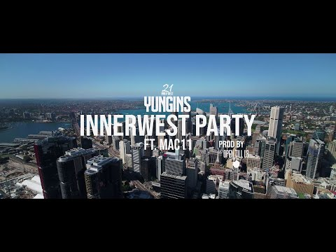 Sydney Yungins ft. Mac11 - InnerWest Party (Official Music Video)