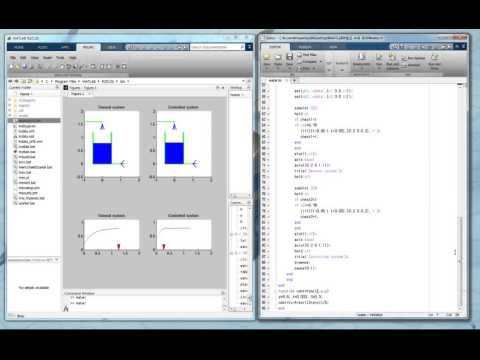 Matlab - water level control