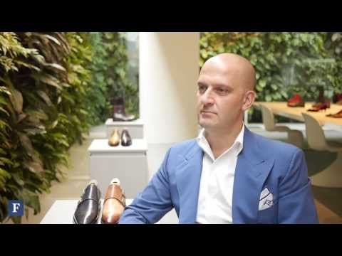 An Interview With Giuseppe Santoni Of Santoni Footwear | Forbes