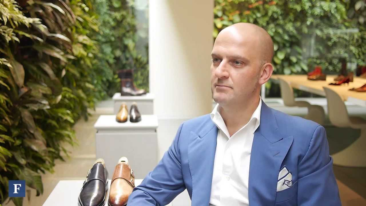 best sneakers fb468 bc687 An Interview with Giuseppe Santoni of Santoni Footwear   Forbes