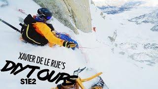 Insane Steep Line in Chamonix | Xavier De Le Rue's DIY Tour S1E2