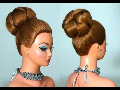 Прическа на длинные волосы: Букли. Hairstyle for long hair