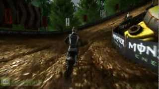 MUD: FIM Motocross World Championship - Frossard Gameplay Preview (2012)