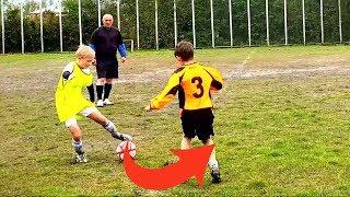 ⚽ НЕРЕАЛЬНАЯ СКОРОСТЬ ФИНТОВ НА ГРЯЗЕВОМ ФУТБОЛЬНОМ ПОЛЕ ⚽ Unreal speed of SKILLS on soccer field