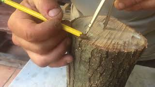 scuola di tornio e tutorial sull uso delle sgorbie  VASO ZEN