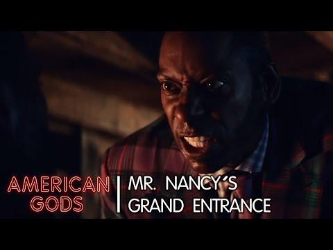 Mr. Nancy: His Grand Entrance | American Gods