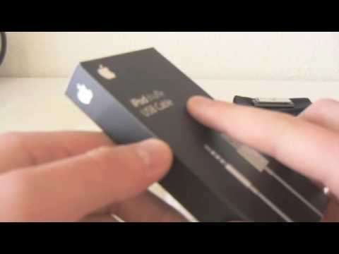 Special Apple Unboxing of the iPod Shuffle 3G USB Cable