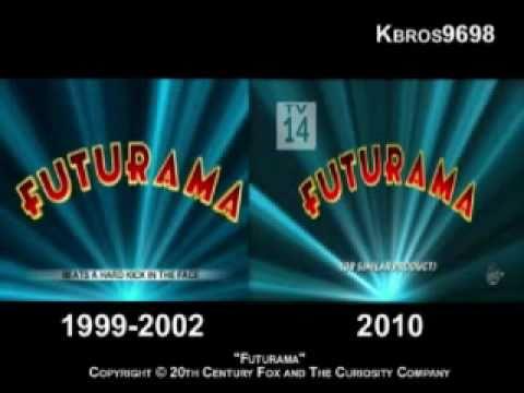 Futurama Opening Comparison 19992002 & 2010Present